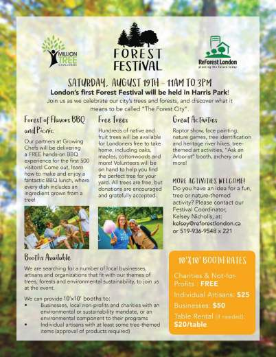 Forest Festival - One Page Information Sheet