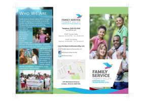 Family Service Thames Valley - Brochure Design