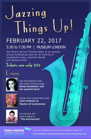 Jazzing Things Up - Event Poster