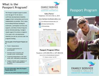 Passport Program - Brochure Design