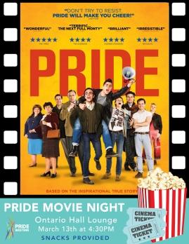 Pride Movie Night - Poster Design