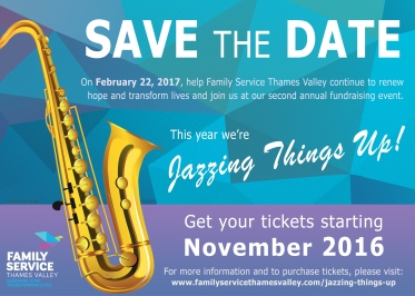 Jazzing Things Up - Save the Date