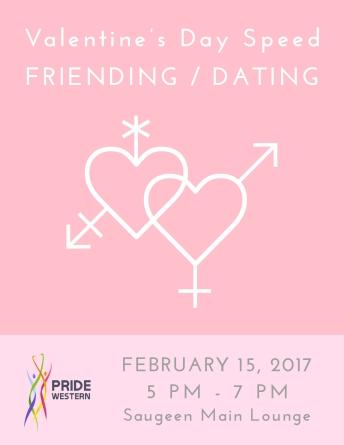 Speed Friending / Dating - Poster Design
