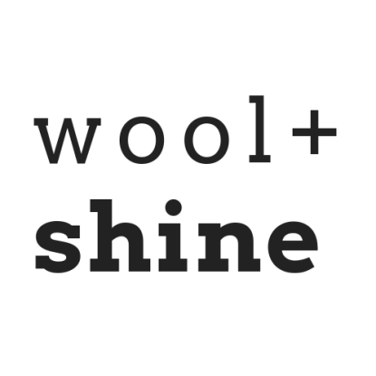 wool+shine logo